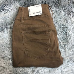 D.Jeans High Waist Ankle Jeans Women Size 10 Cocoa